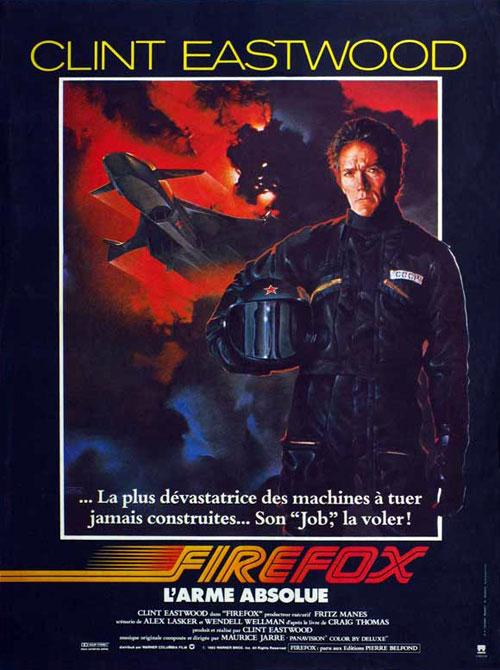 affiche du film Firefox, l'arme absolue