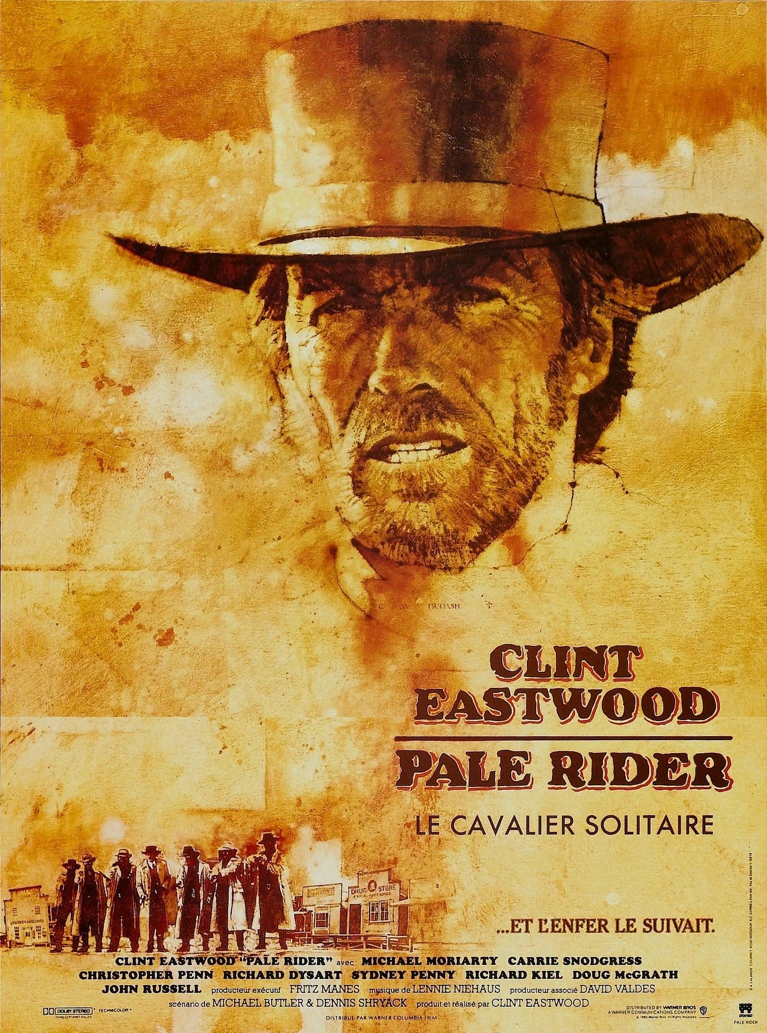 affiche du film Pale Rider: Le cavalier solitaire