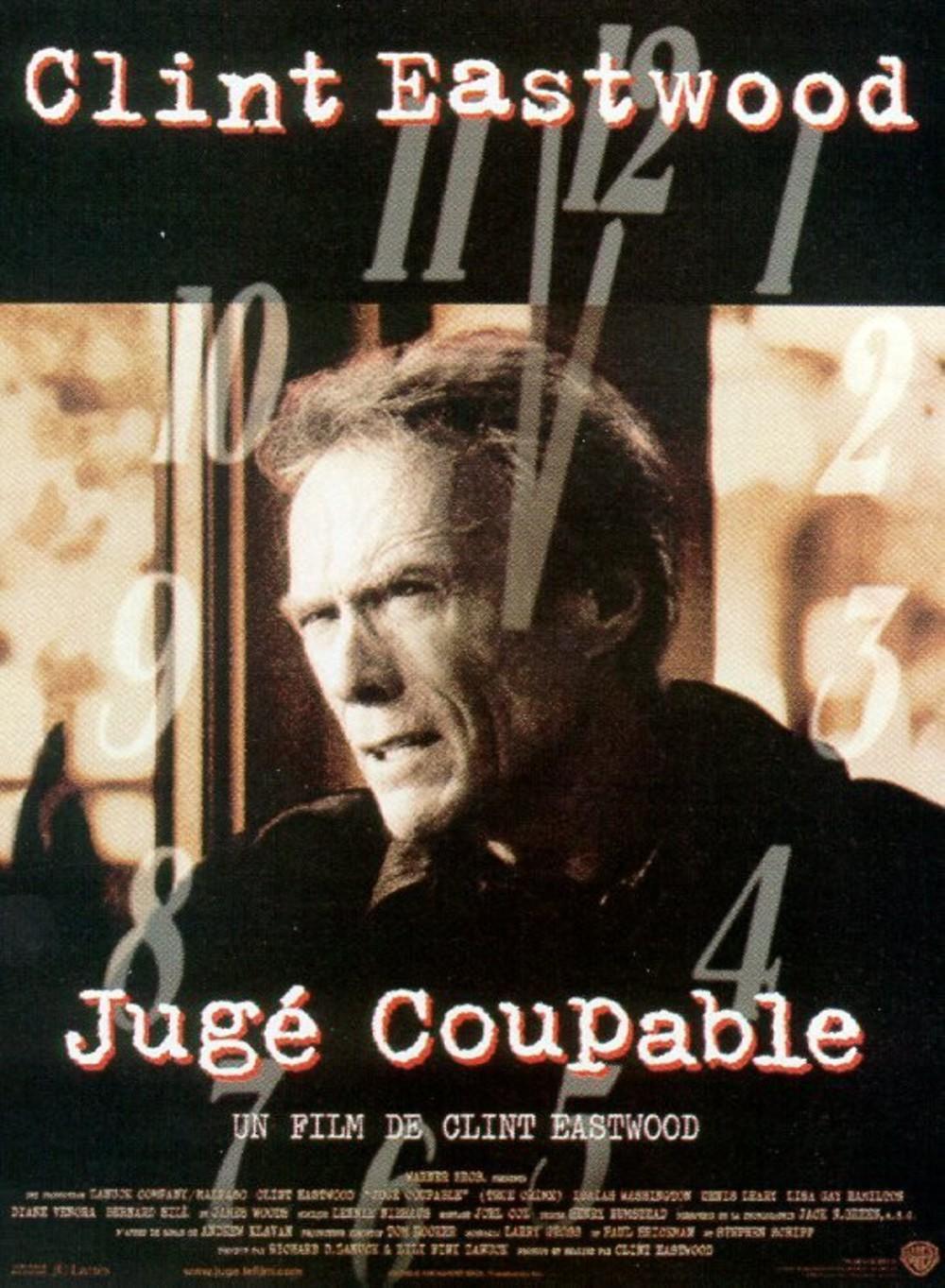 affiche du film Jugé coupable