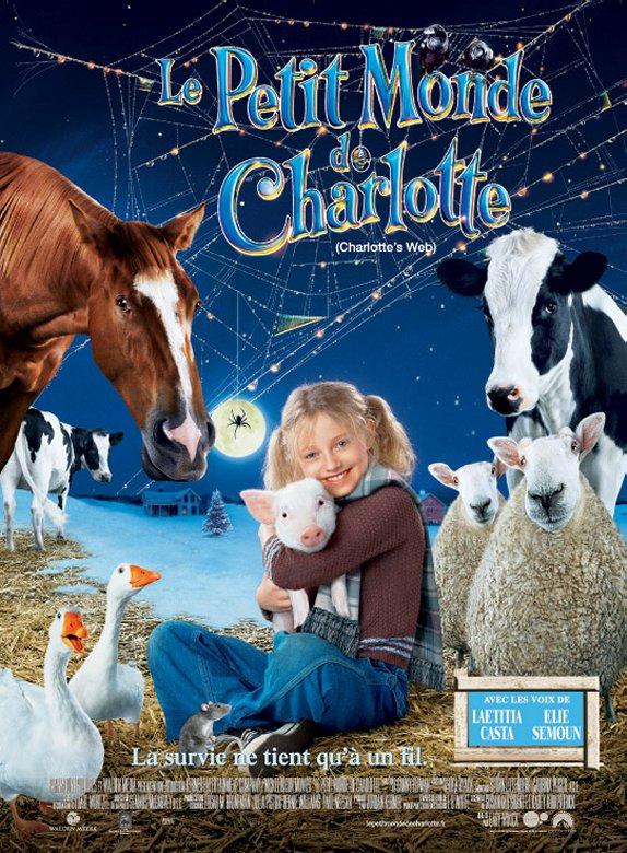 affiche du film Le Petit Monde de Charlotte