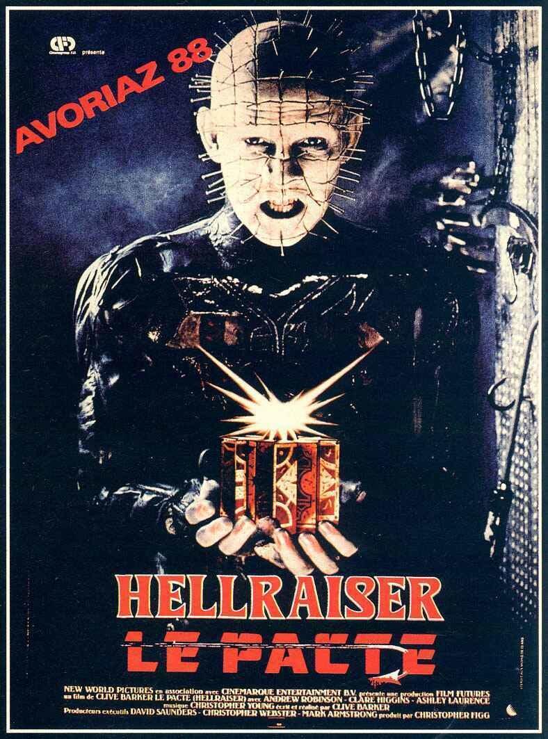 affiche du film Hellraiser: Le pacte