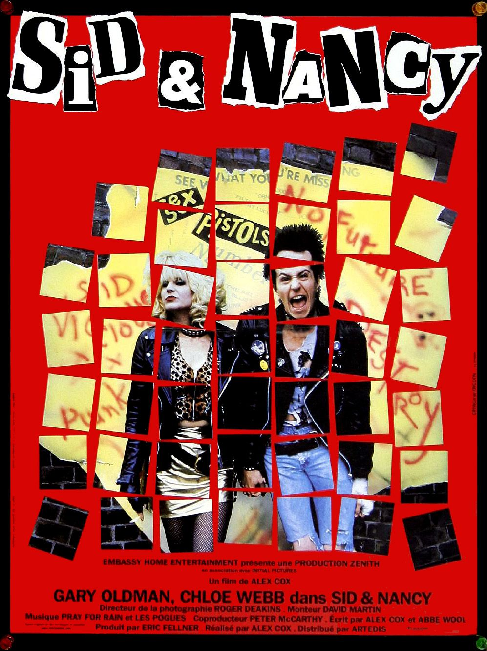 affiche du film Sid & Nancy