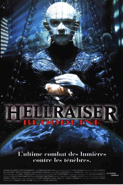 affiche du film Hellraiser 4 : Bloodline