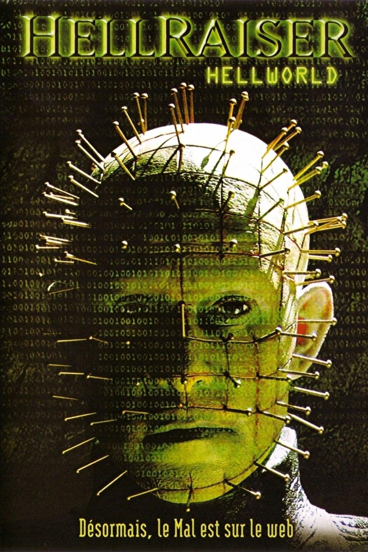 affiche du film Hellraiser 8: Hellworld