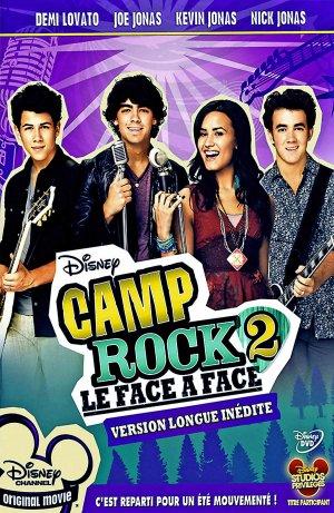 affiche du film Camp Rock 2 : Le face à face (TV)
