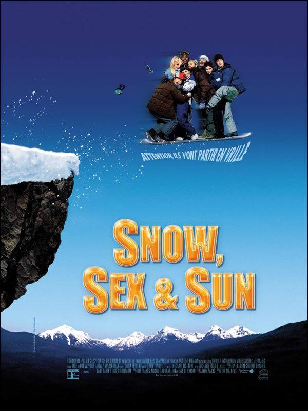 affiche du film Snow, Sex & Sun