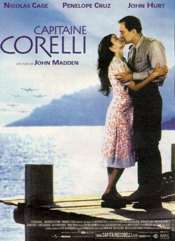 affiche du film Capitaine Corelli