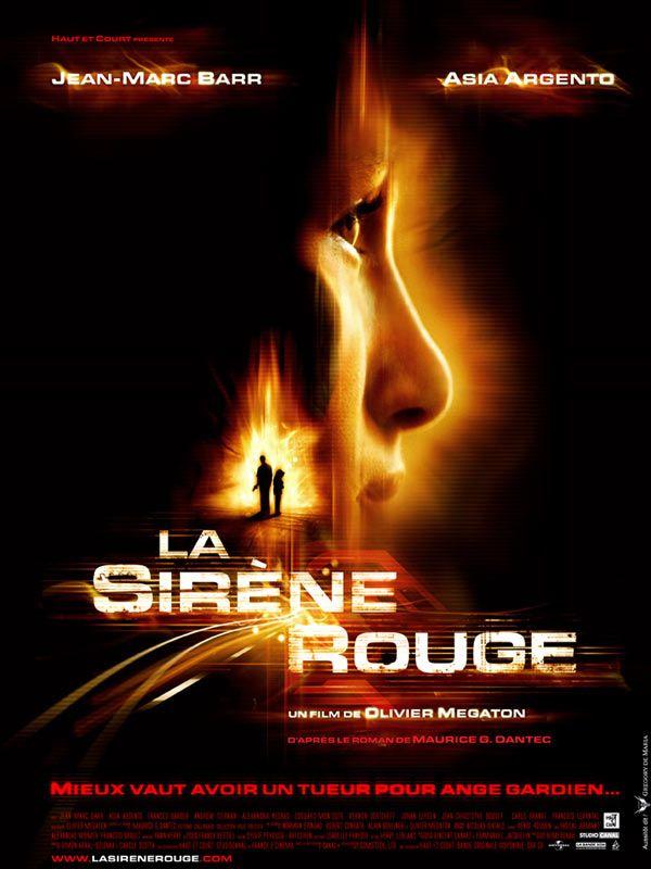 affiche du film La sirène rouge