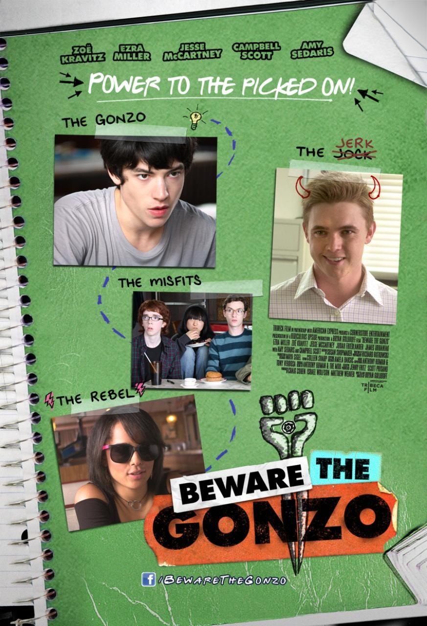 affiche du film Beware the Gonzo