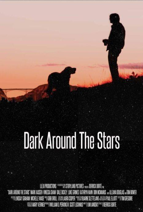 affiche du film Dark Around the Stars
