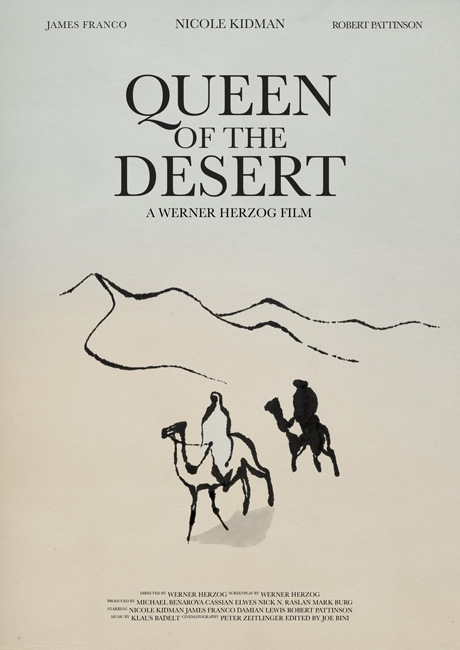 affiche du film Reine du désert