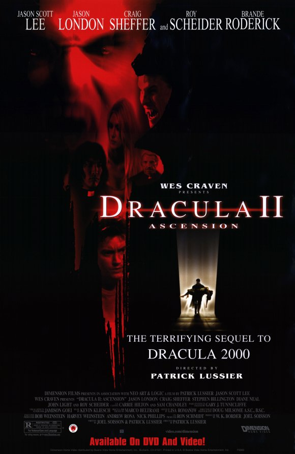 affiche du film Dracula II: Ascension