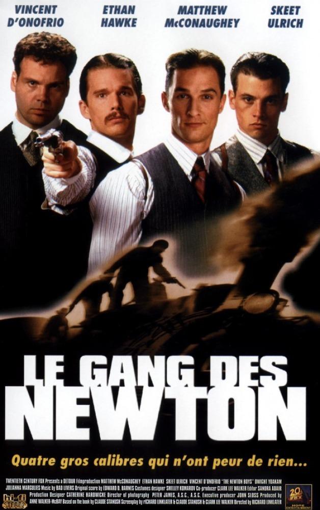 affiche du film Le gang des Newton