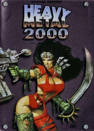 affiche du film Heavy Metal 2000