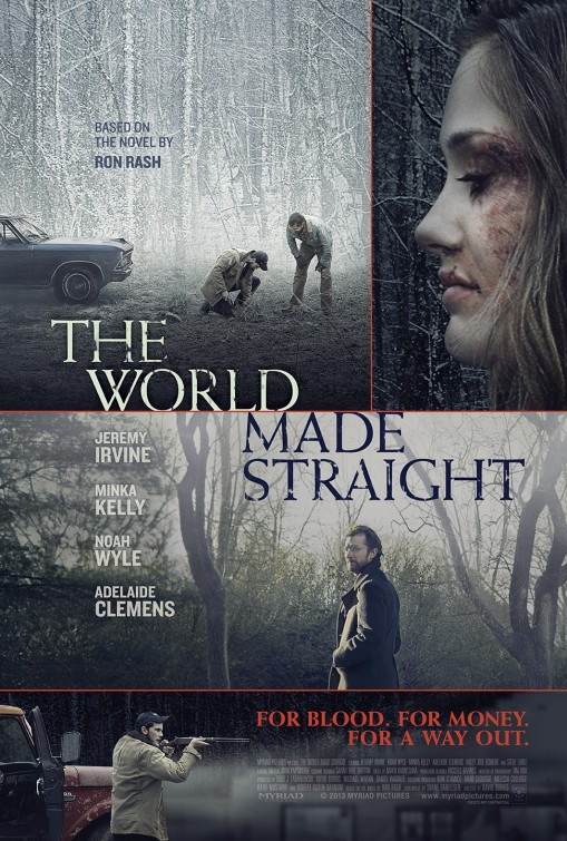 affiche du film The World Made Straight