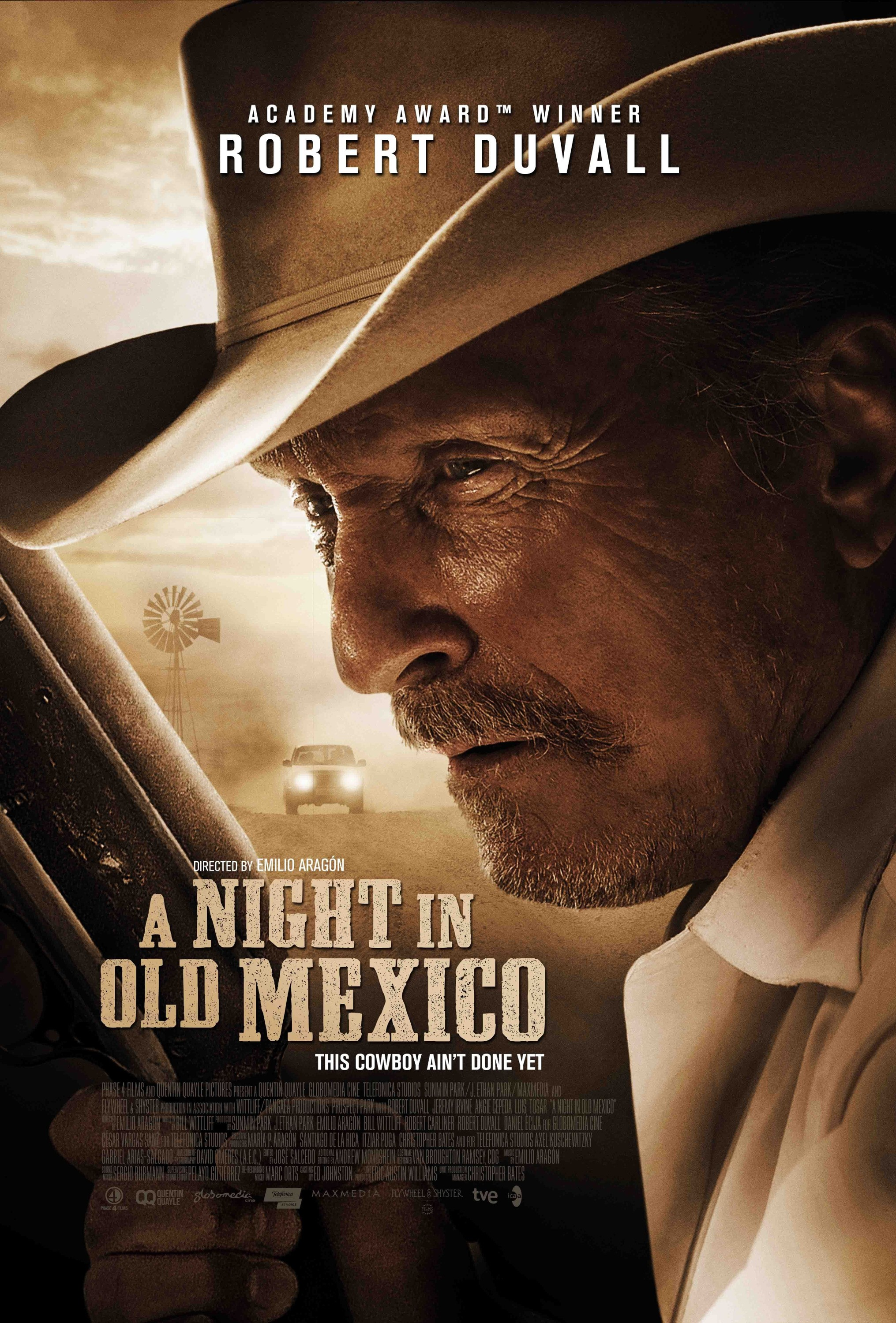 affiche du film A Night in Old Mexico
