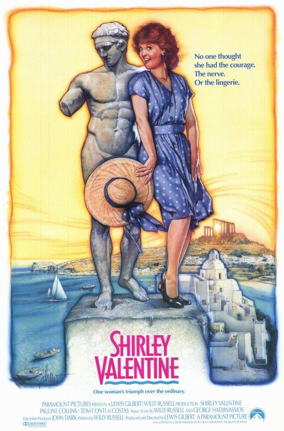 affiche du film Shirley Valentine