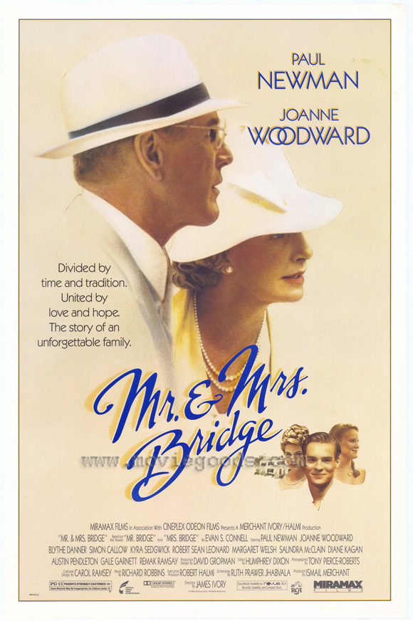 affiche du film Mr. & Mrs. Bridge