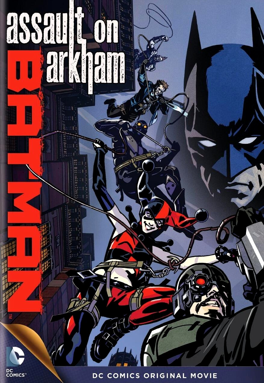 affiche du film Batman: Assault on Arkham