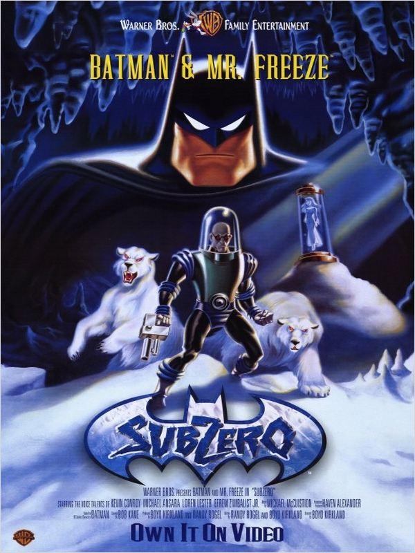 affiche du film Batman & Mr. Freeze: SubZero