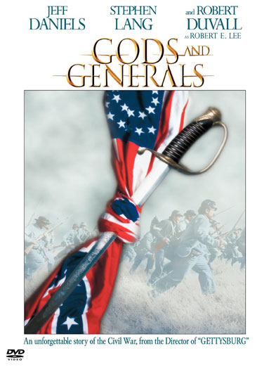 affiche du film Gods and Generals