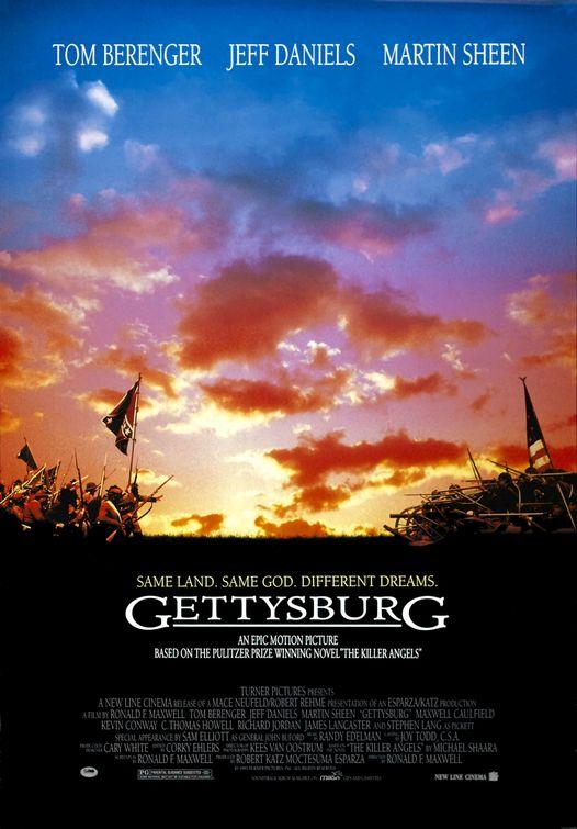 affiche du film Gettysburg