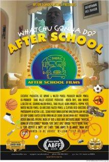 affiche du film After School
