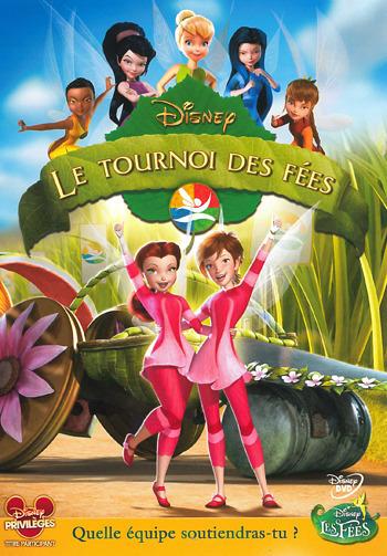 affiche du film Clochette et le tournoi des fées (TV)