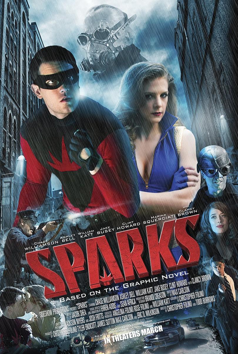 affiche du film Sparks
