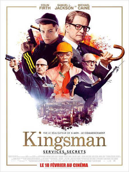 affiche du film Kingsman: Services secrets