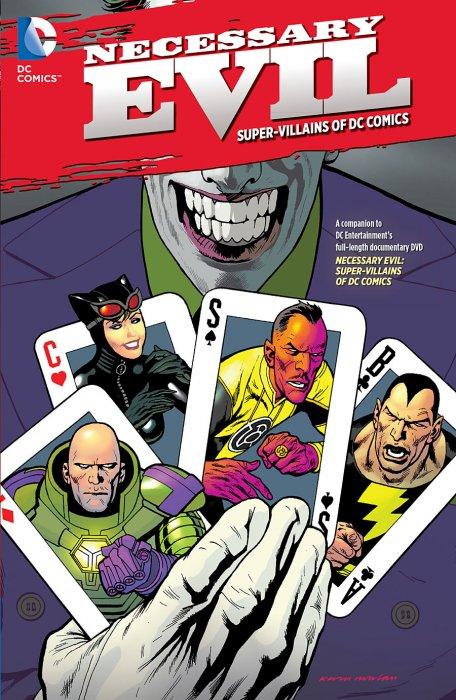 affiche du film Necessary Evil: Super-Villains of DC Comics