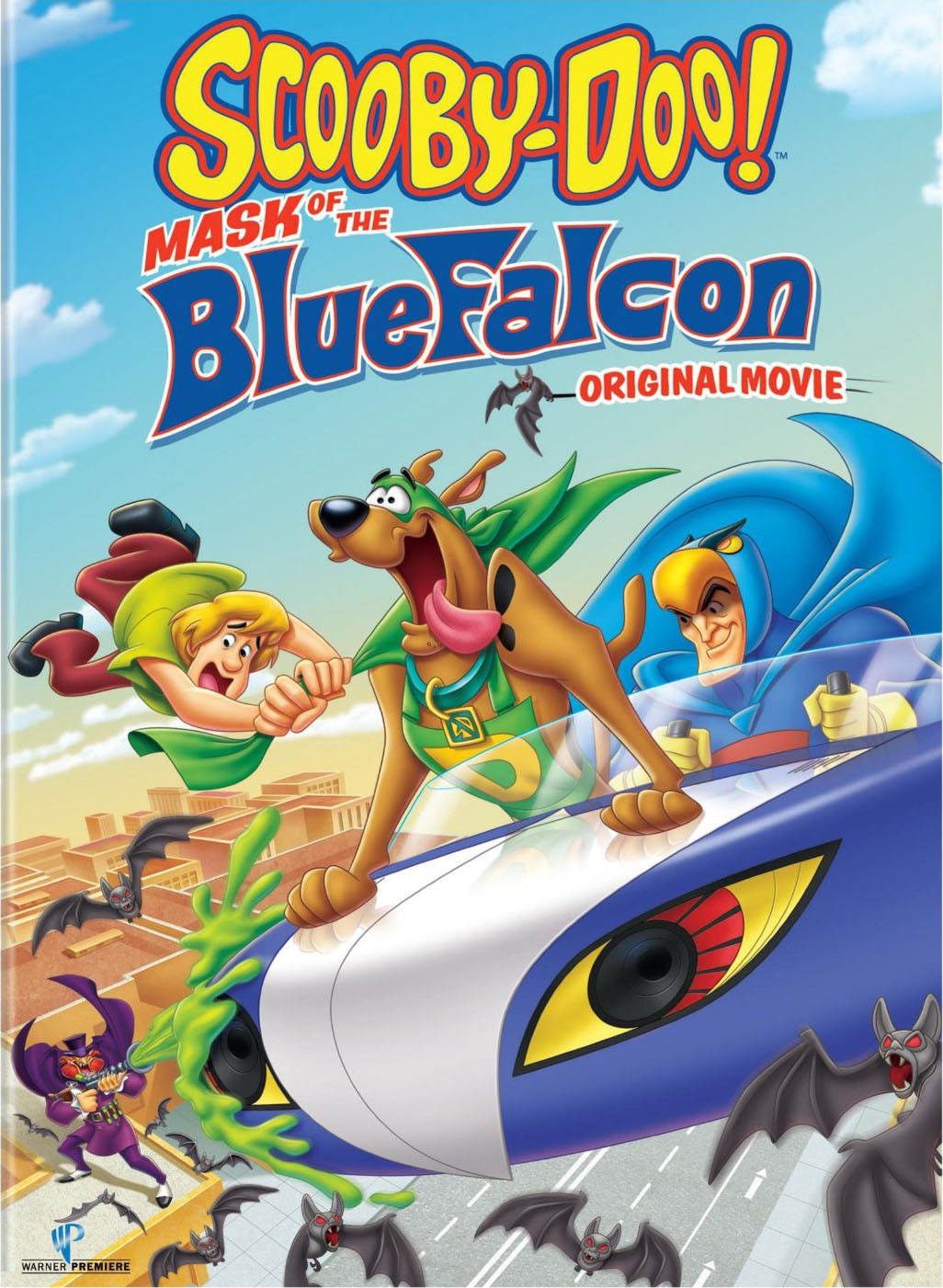 affiche du film Scooby-Doo: Blue Falcon, le retour