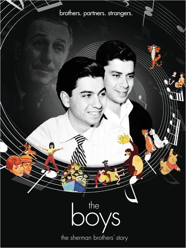 affiche du film The Boys : L'histoire des frères Sherman