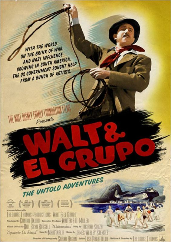 affiche du film Walt & El Grupo: The Untold Adventure