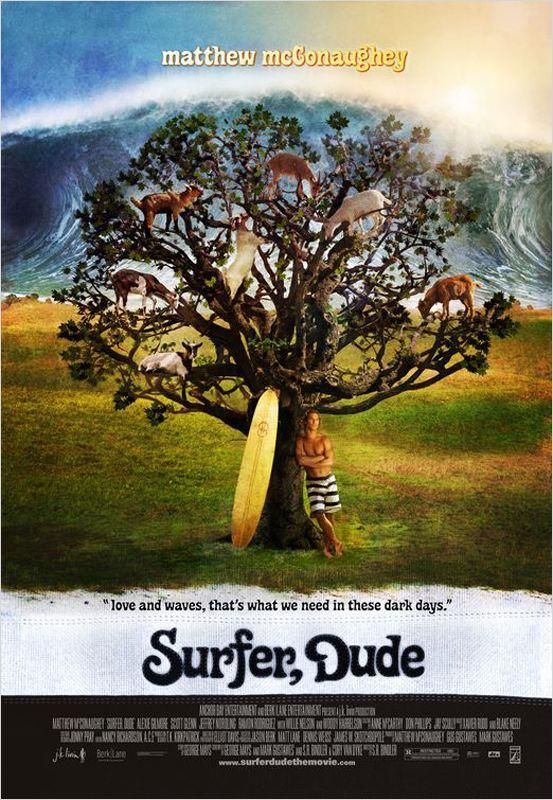 affiche du film Surfer, Dude