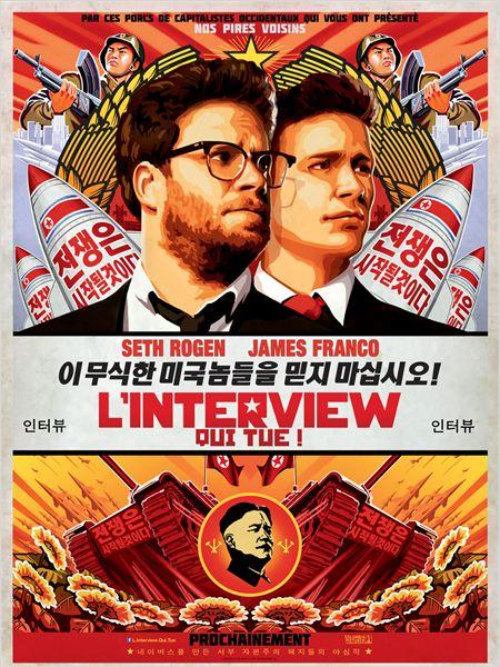 affiche du film L'interview qui tue !