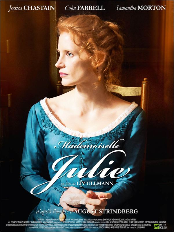 affiche du film Mademoiselle Julie
