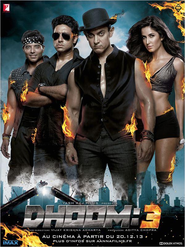 affiche du film Dhoom 3