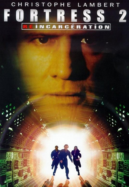 affiche du film Fortress 2: Reincarceration