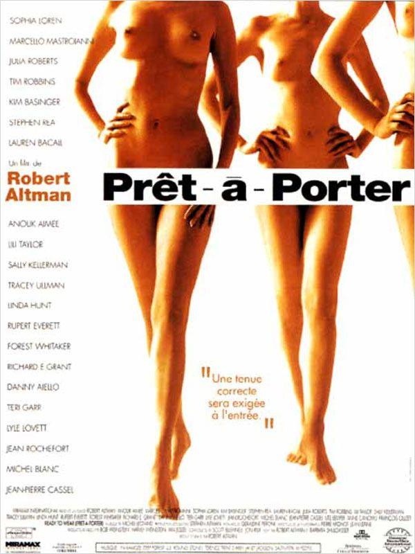 affiche du film Prêt-à-porter