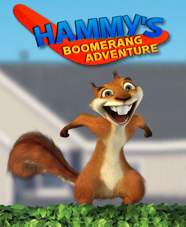affiche du film Hammy's Boomerang Adventure