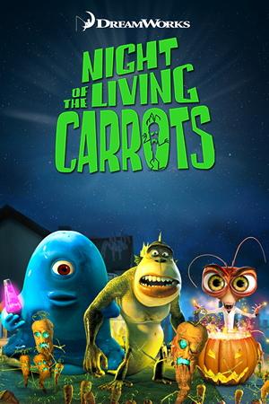 affiche du film Night of the Living Carrots