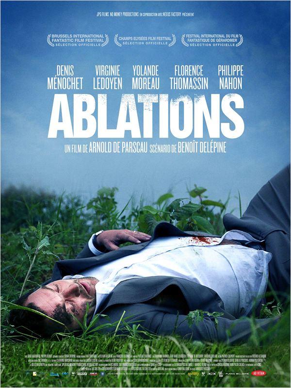 affiche du film Ablations