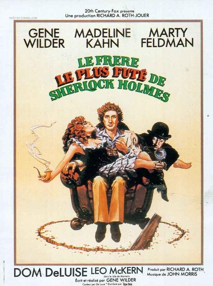 affiche du film Le Frère le plus futé de Sherlock Holmes