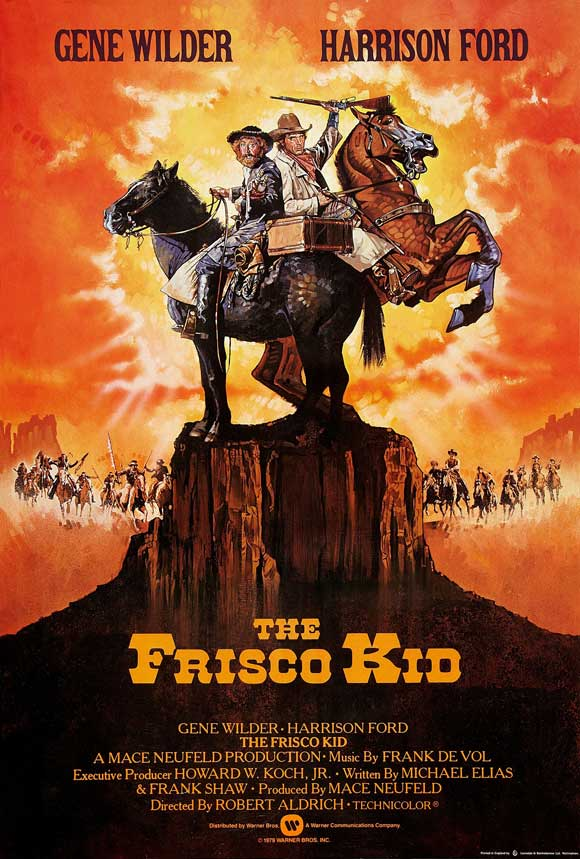 affiche du film Un rabbin au Far West