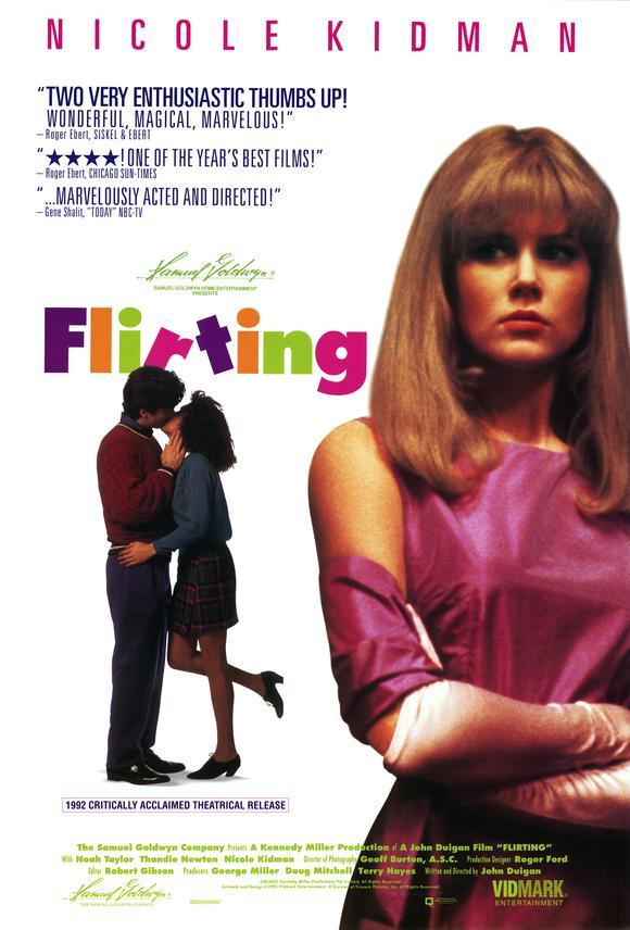 affiche du film Flirting