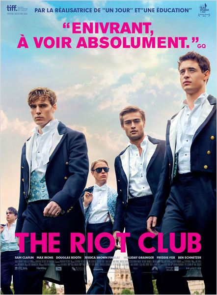 affiche du film The Riot Club