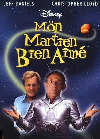 affiche du film Mon martien bien aimé