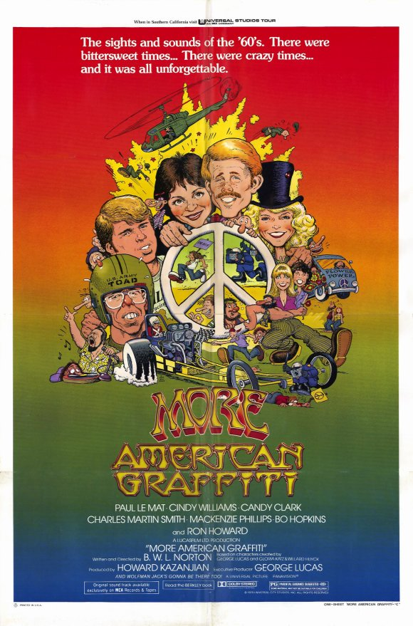 affiche du film American Graffiti, la suite