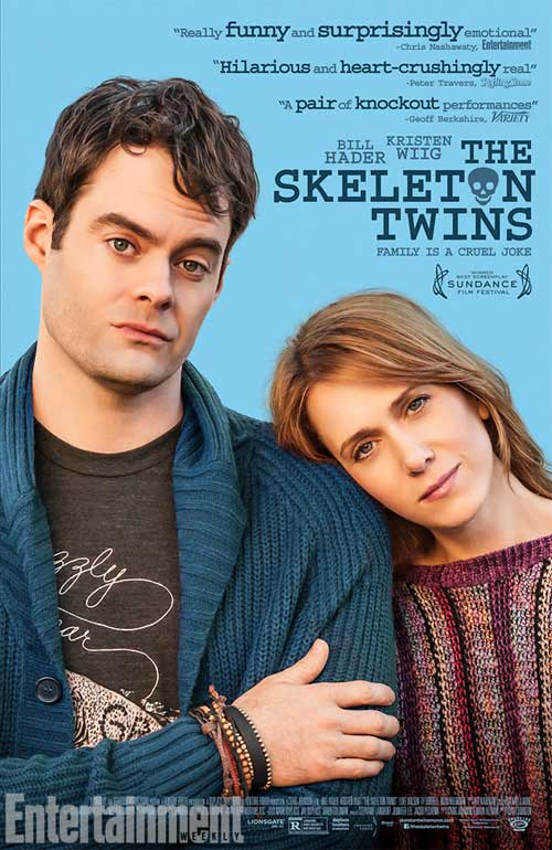 affiche du film The Skeleton Twins